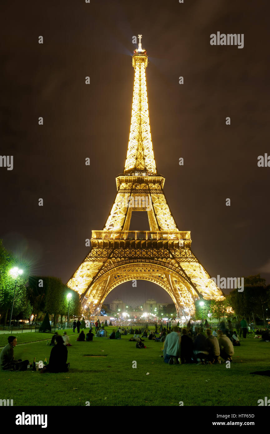 Eiffel Tower ParisStock Photo
