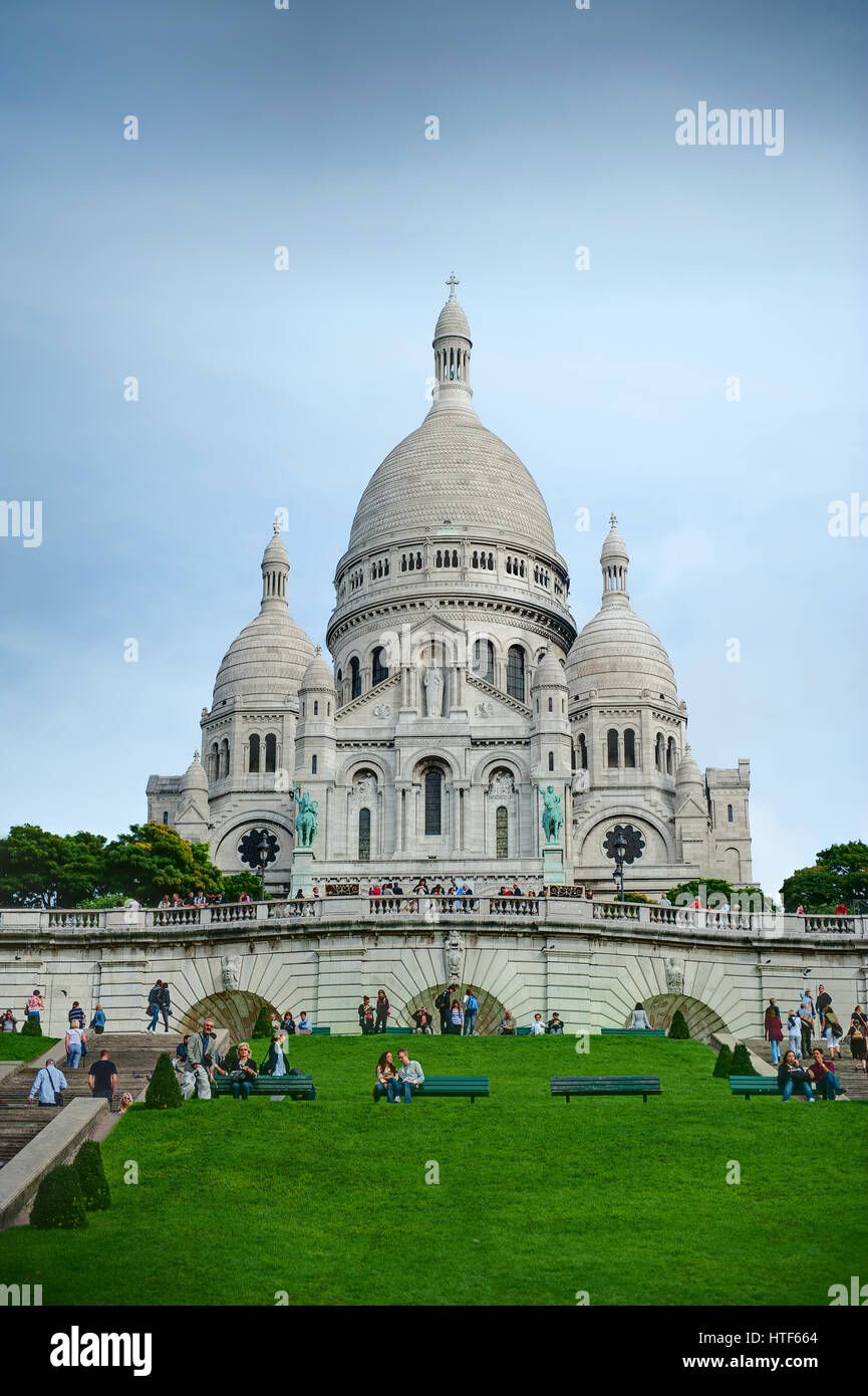 Sacre Coeur Stock Photo