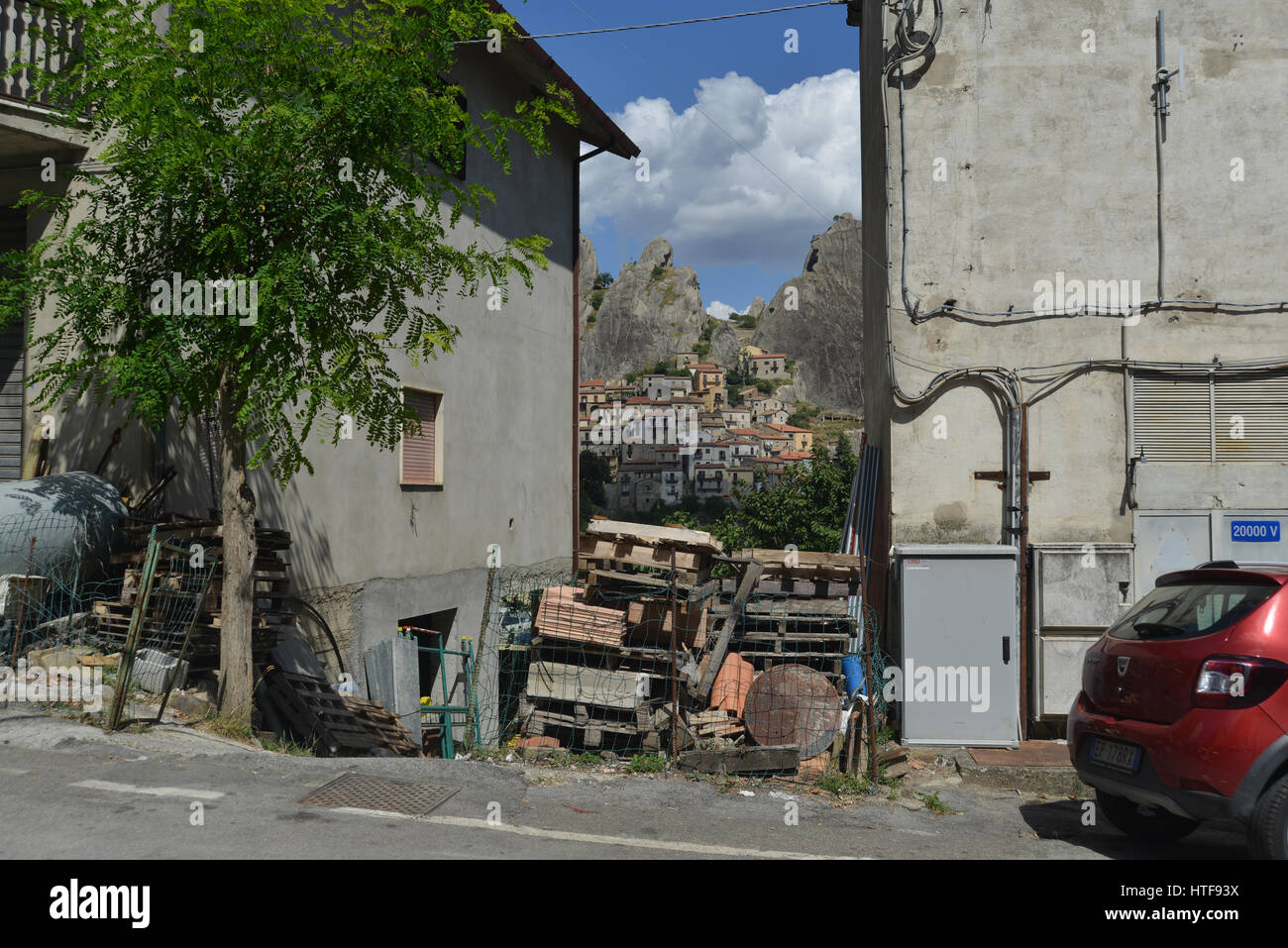 Castelmezzano, Lucania, Italy Stock Photo