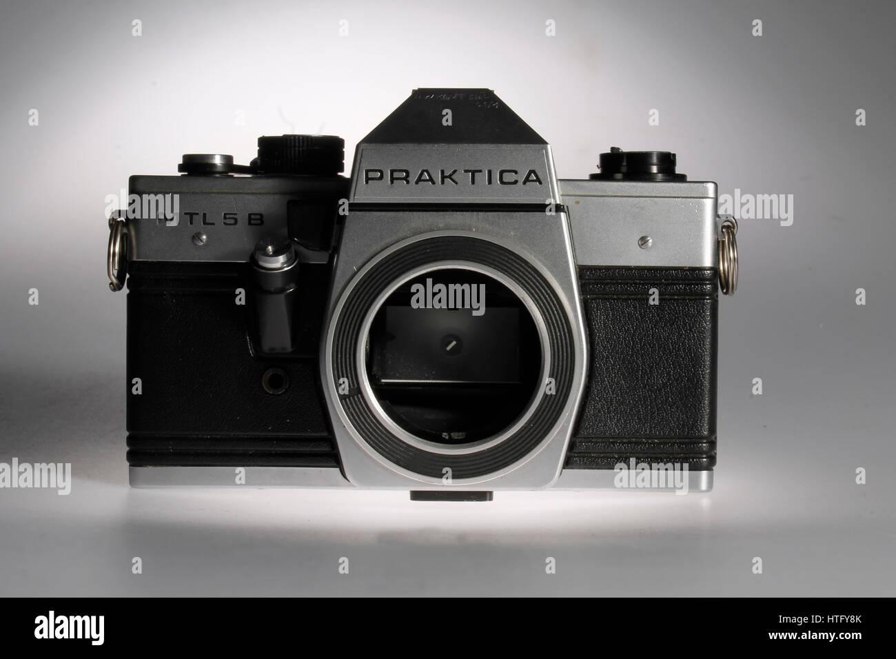 Praktica Film Camera - Stock Image