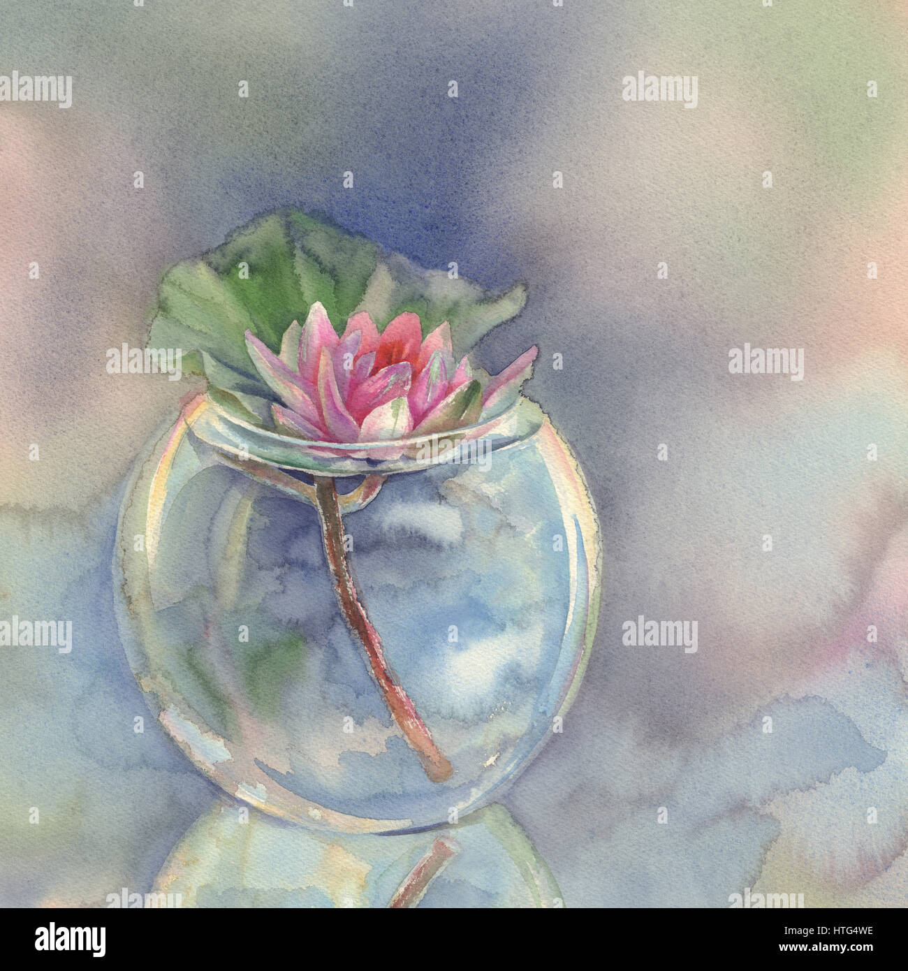 rose water lily in gl vase watercolor background Stock Photo ... on flower butterfly painting, flower wreath painting, flower window painting, bottle flower painting, flower bed painting, flower still life oil paintings, flower table painting, frame painting, flower mirror painting, flower box painting, flower vases with flowers, flower light painting, flower oil paintings christmas, candle painting, bird-and-flower painting, flower white painting, flower bowl painting, modern palette knife painting, flower stand painting, flower girl painting,