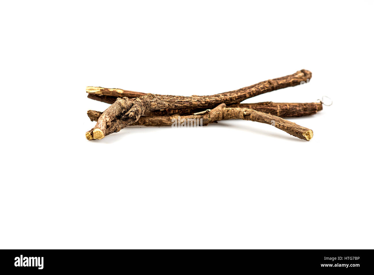 Licorice Root Sticks - Stock Image