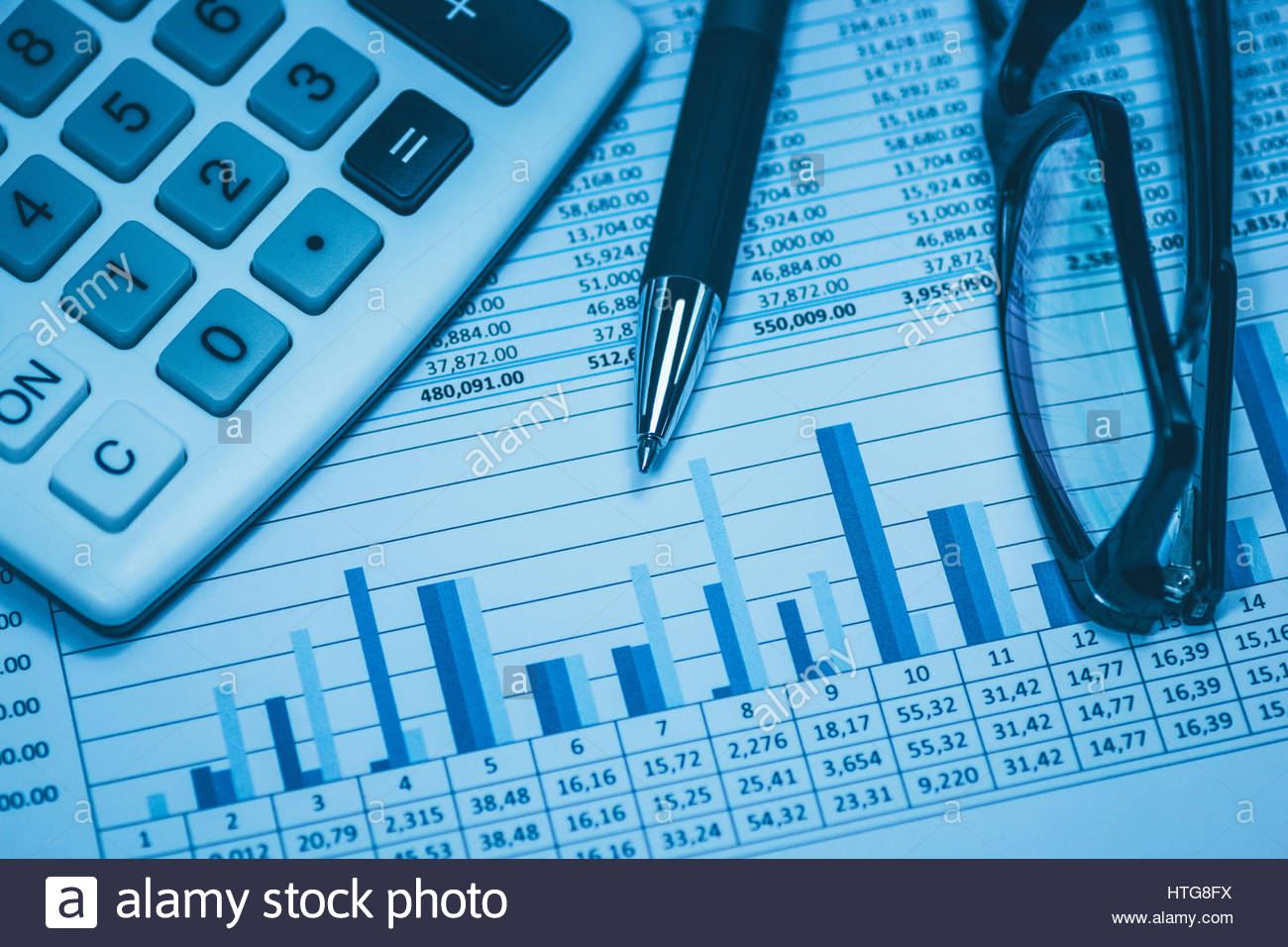 accounting financial bank banking account stock exchange spreadsheet