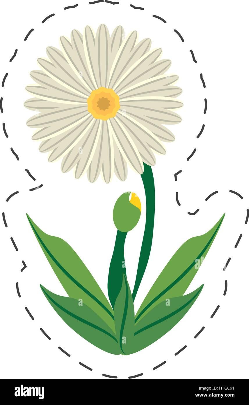 Cartoon daisy flower image stock photos cartoon daisy flower image cartoon daisy flower image stock image izmirmasajfo