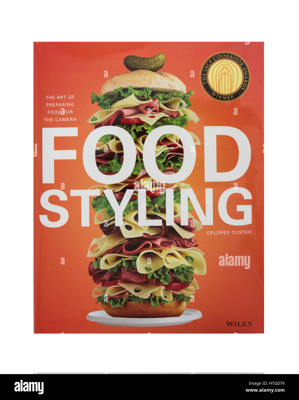 Food Styling By Delores Custer, the art of prepairing food for the camera published by Wiley - Stock Image