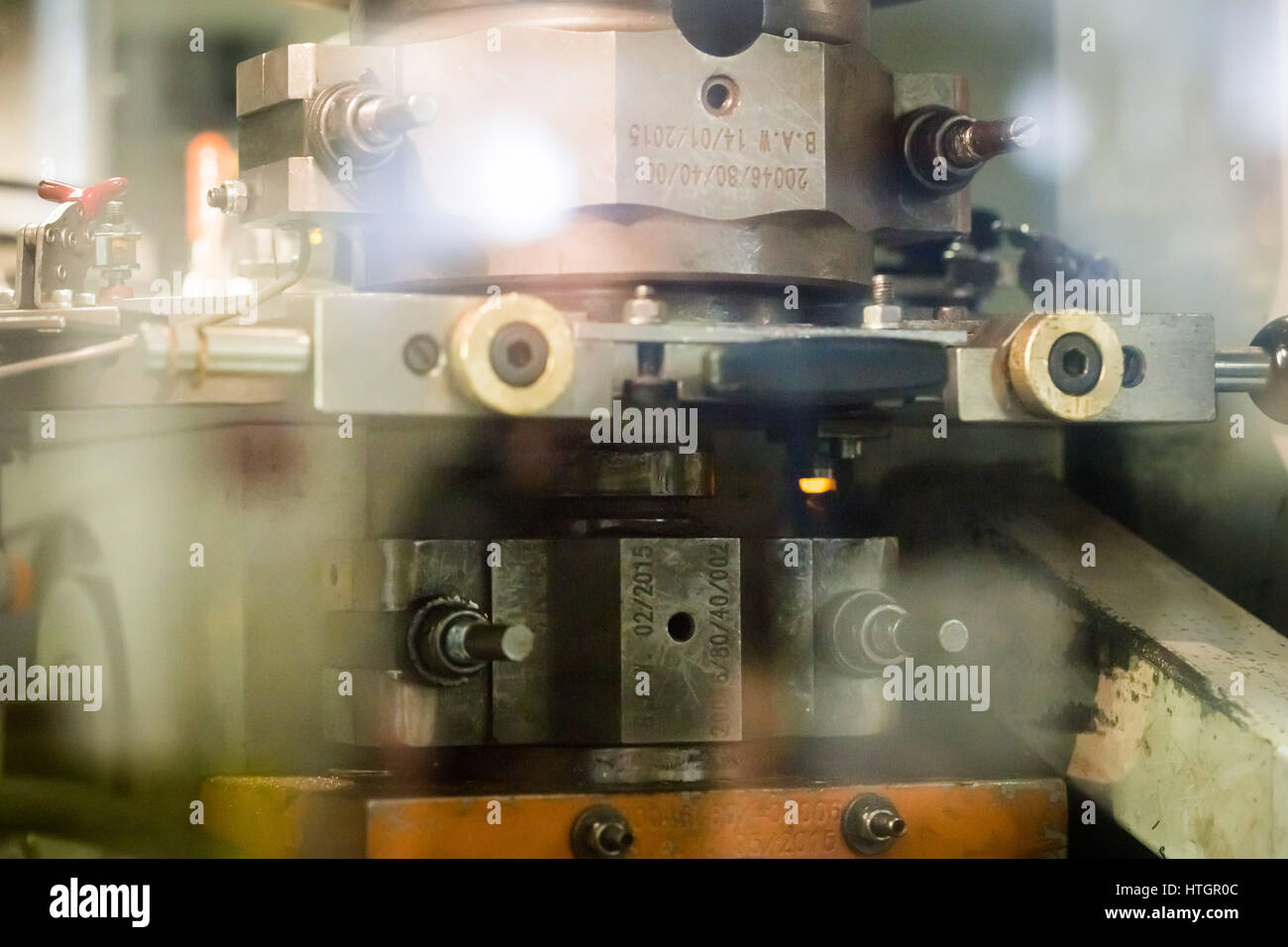 Coin Press Machine Stock Photos & Coin Press Machine Stock Images