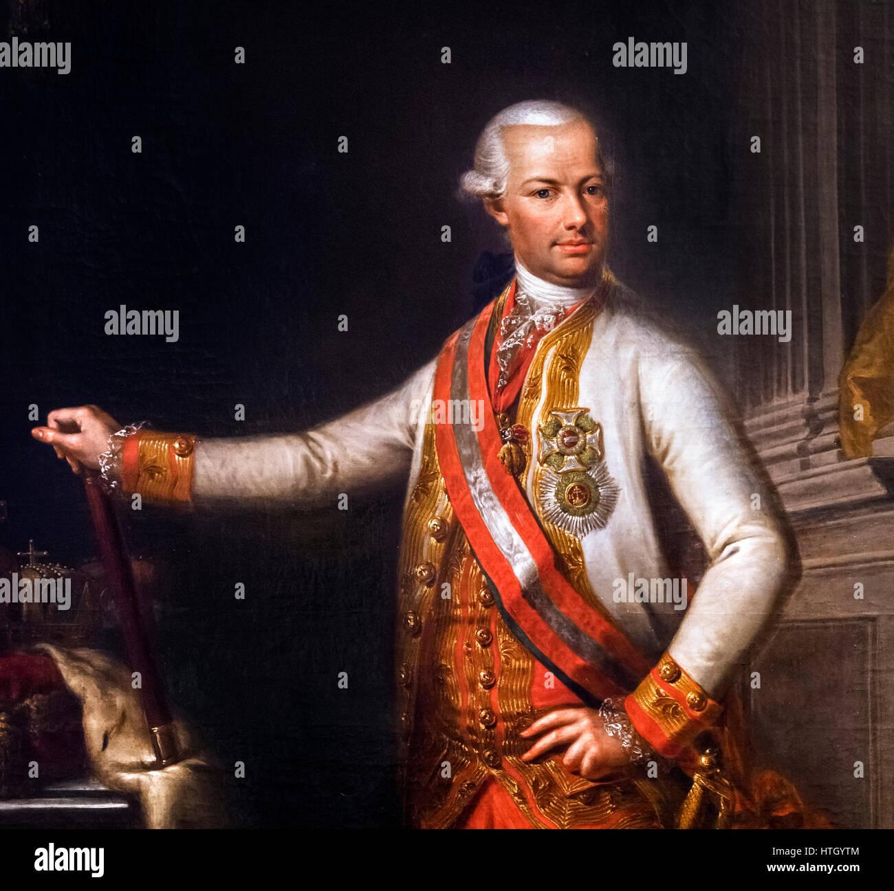 Leopold II (1747-1792), Holy Roman Emperor, King of Hungary and Bohemia, Archduke of Austria and Grand Duke of Tuscany. - Stock Image