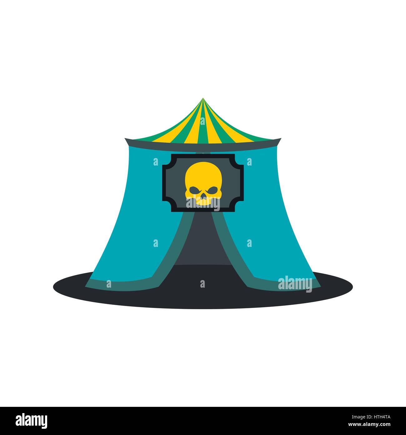Haunted house icon  - Stock Vector