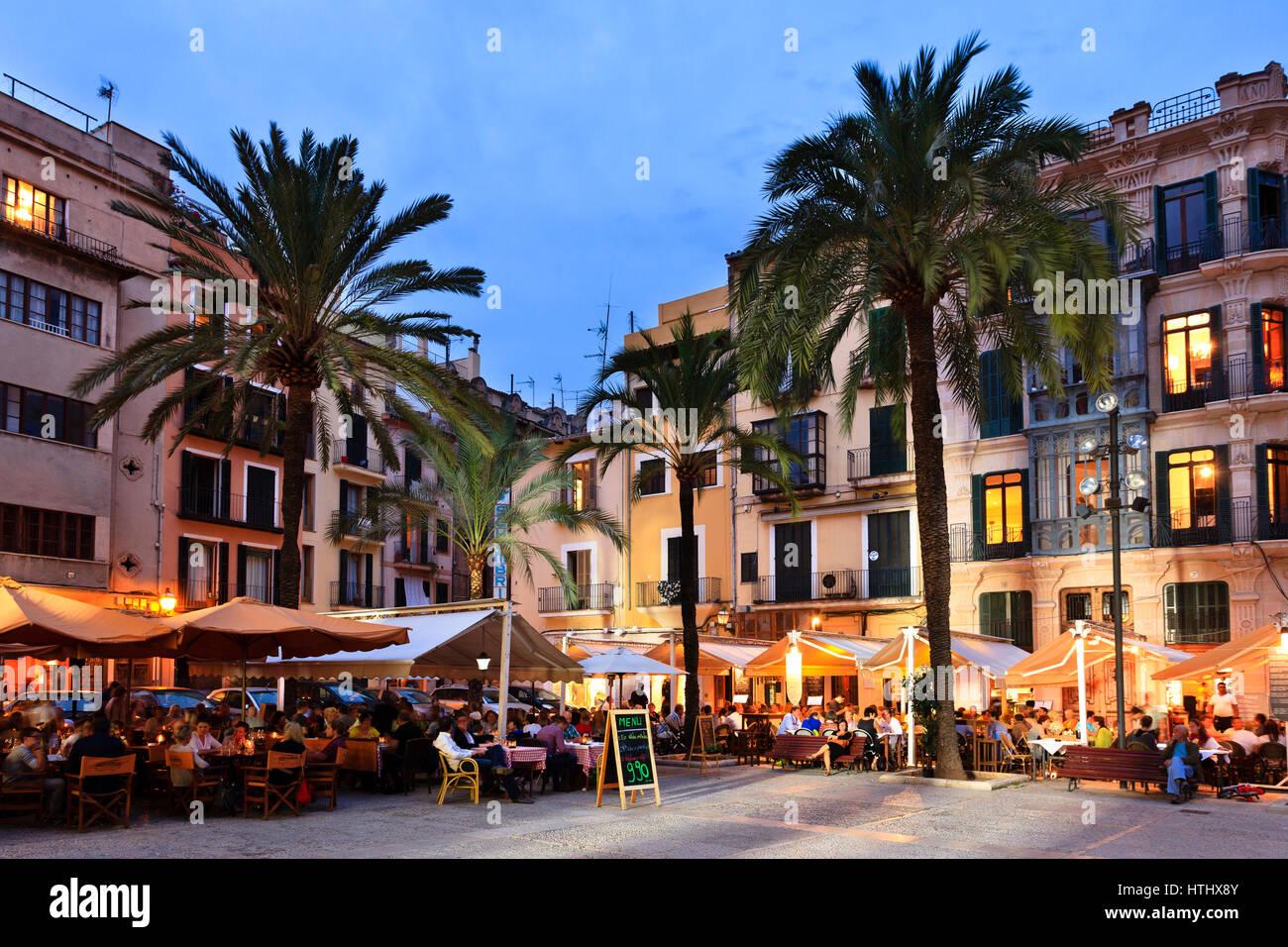 Placa de la Llotja, Palma, Mallorca, Spain Stock Photo