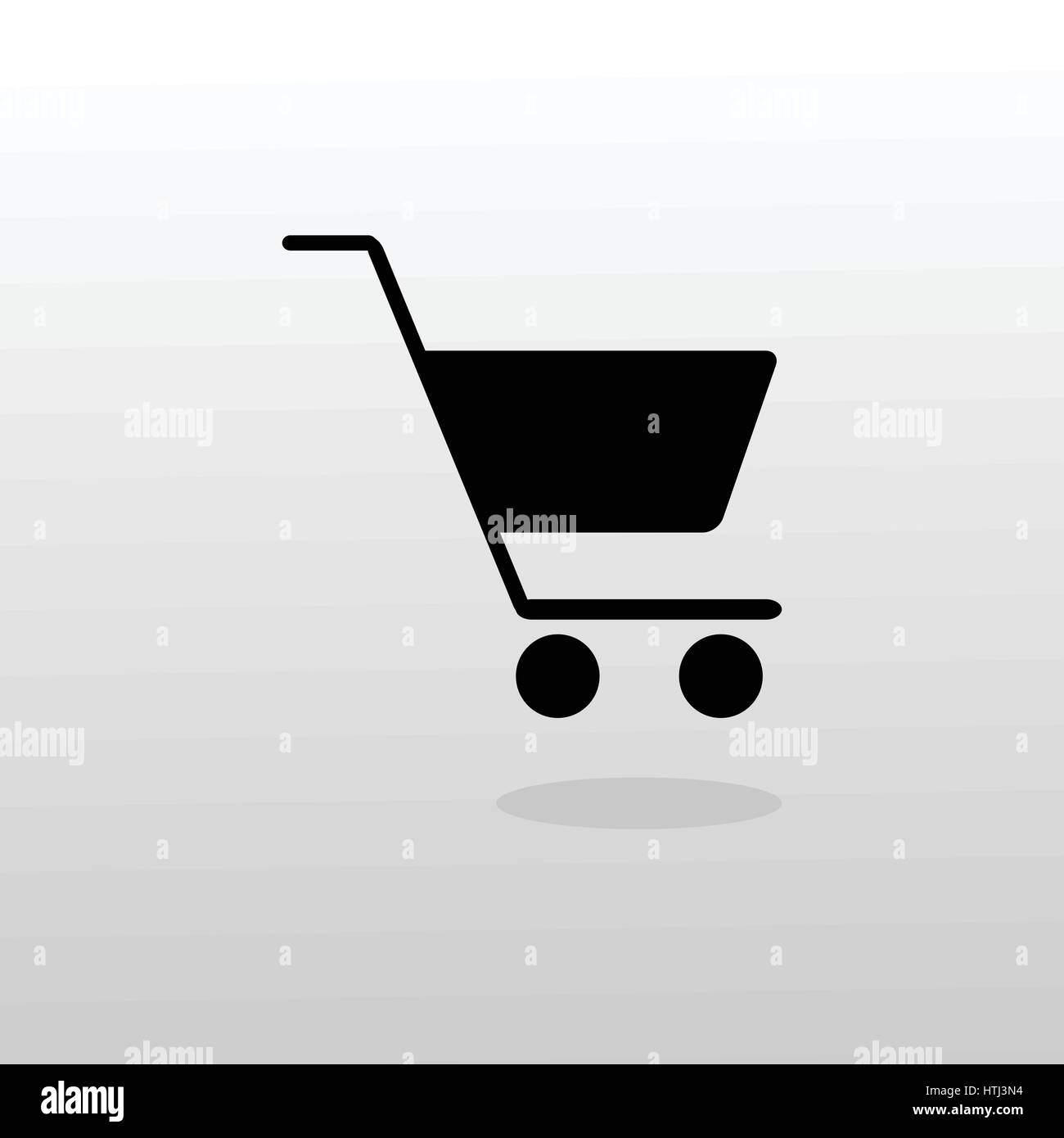 Shopping cart illustration - Stock Vector