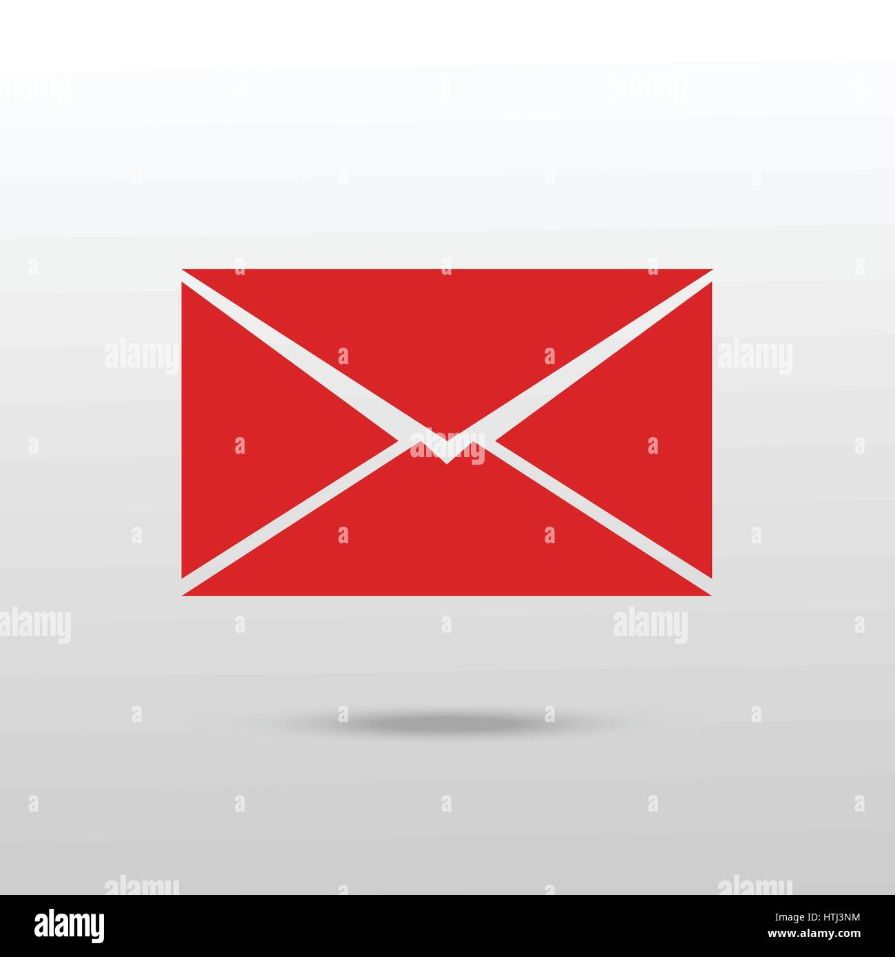 Mail icon. Envelope icon vector. - Stock Image