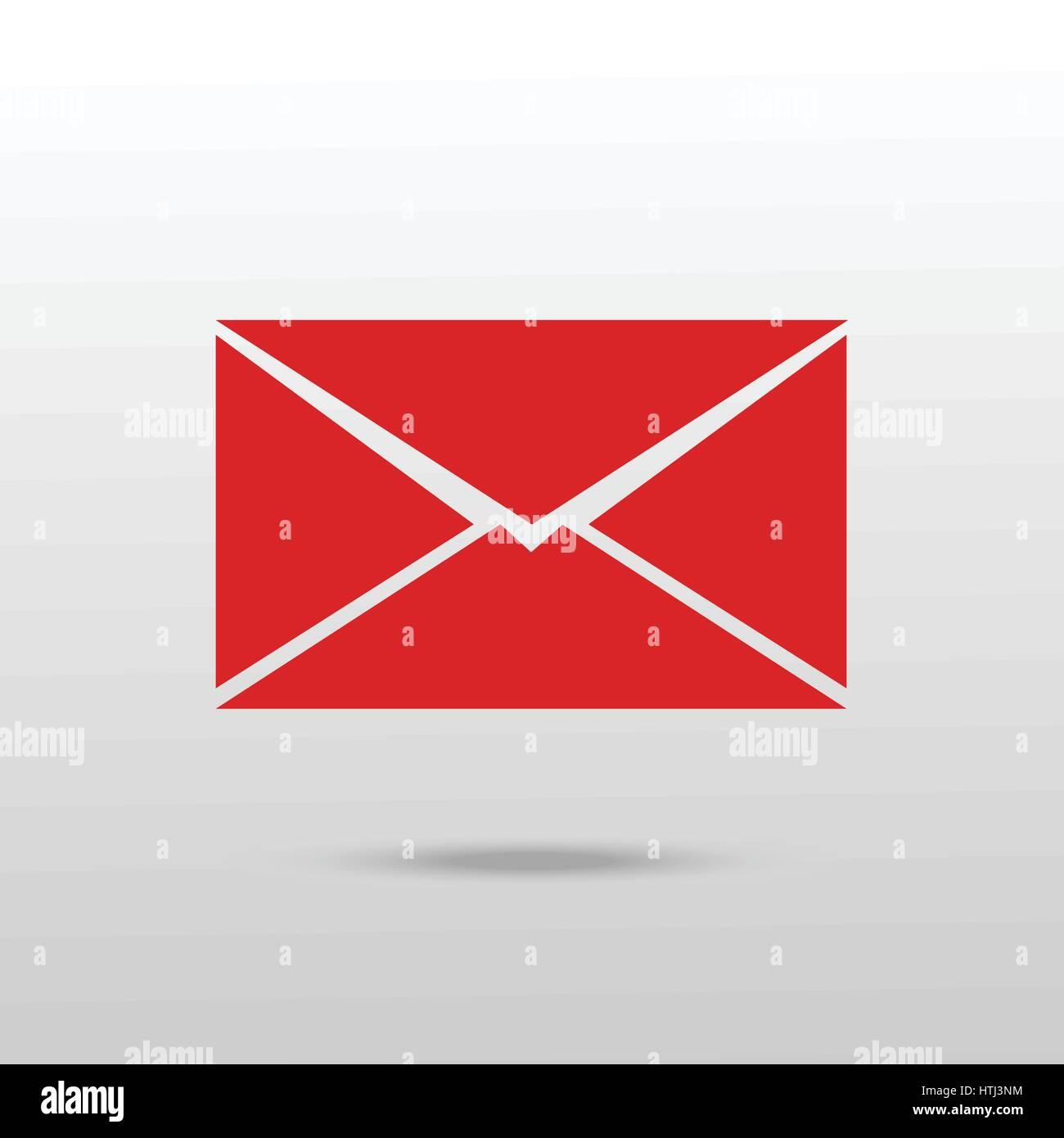 Mail icon. Envelope icon vector. - Stock Vector