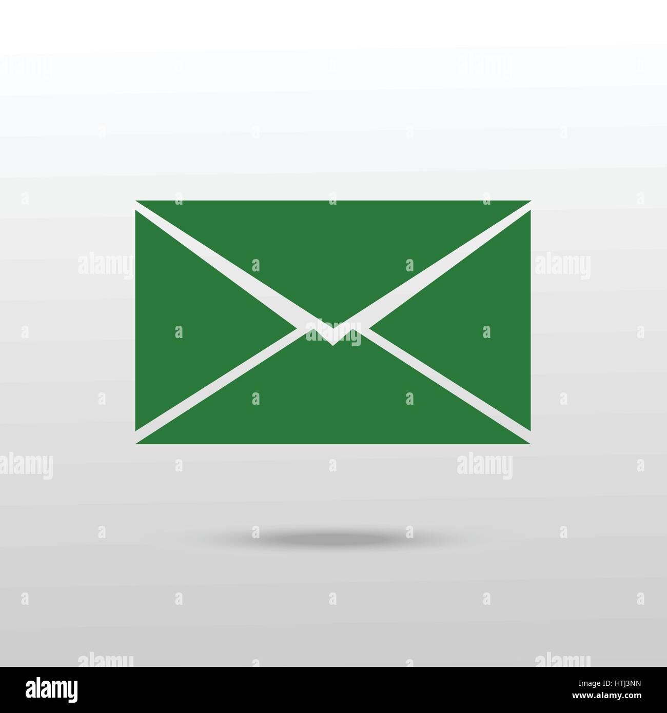 Mail icon. Envelope icon vector. Stock Vector