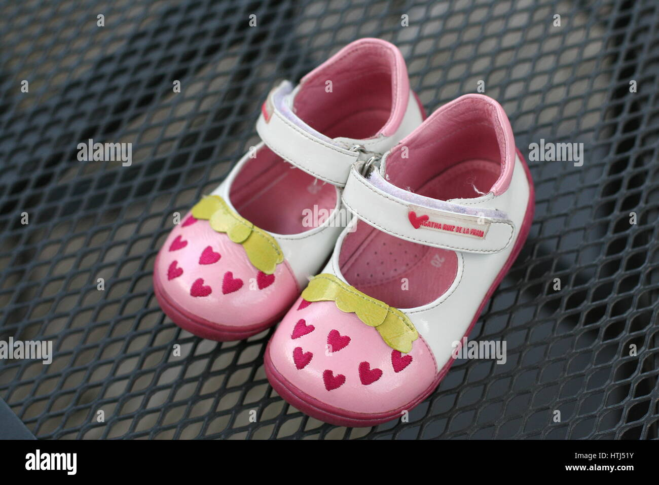 5816cb4cf2f1 My first shoes, baby concept toddler, learning to walk concept Stock ...