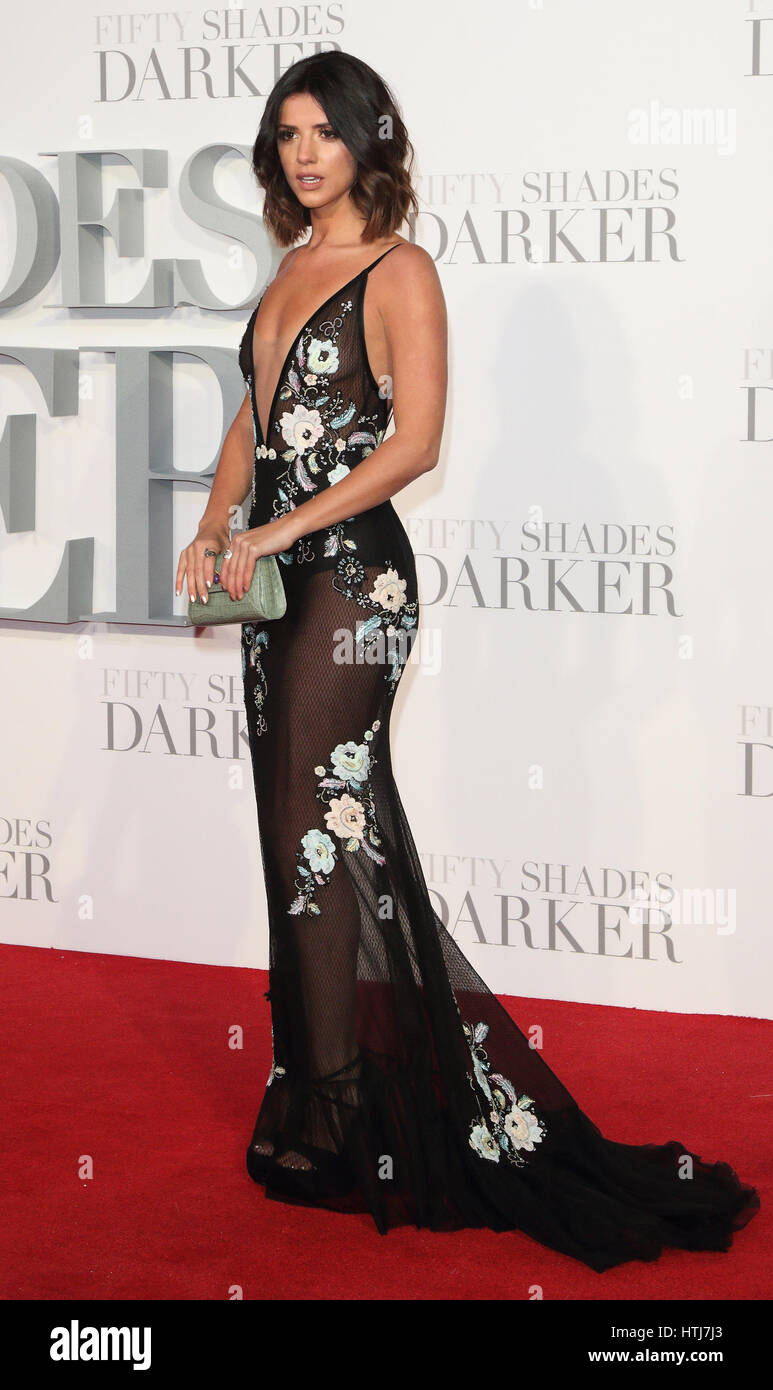 Watch Lucy mecklenburgh fifty shades darker premiere at odeon leicester square in london 292019 video