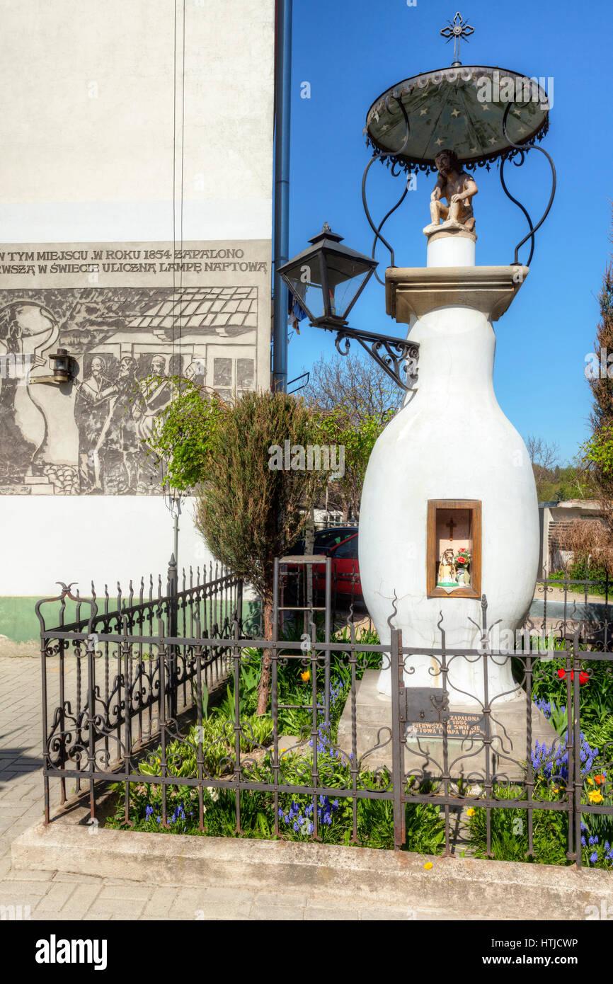 Gorlice,chapel with a lantern, Malopolska, Poland, Europe. - Stock Image