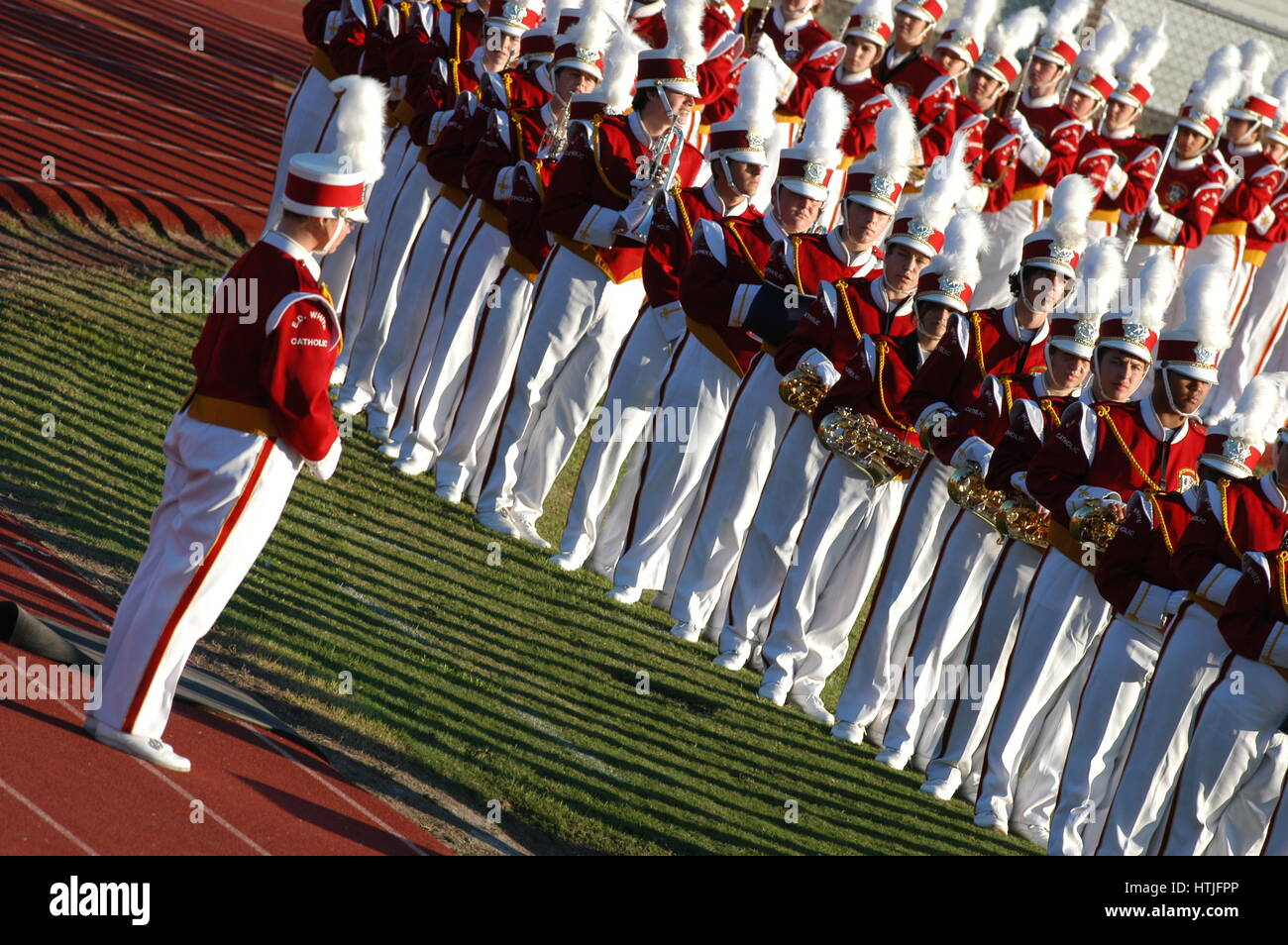 Marching band. - Stock Image