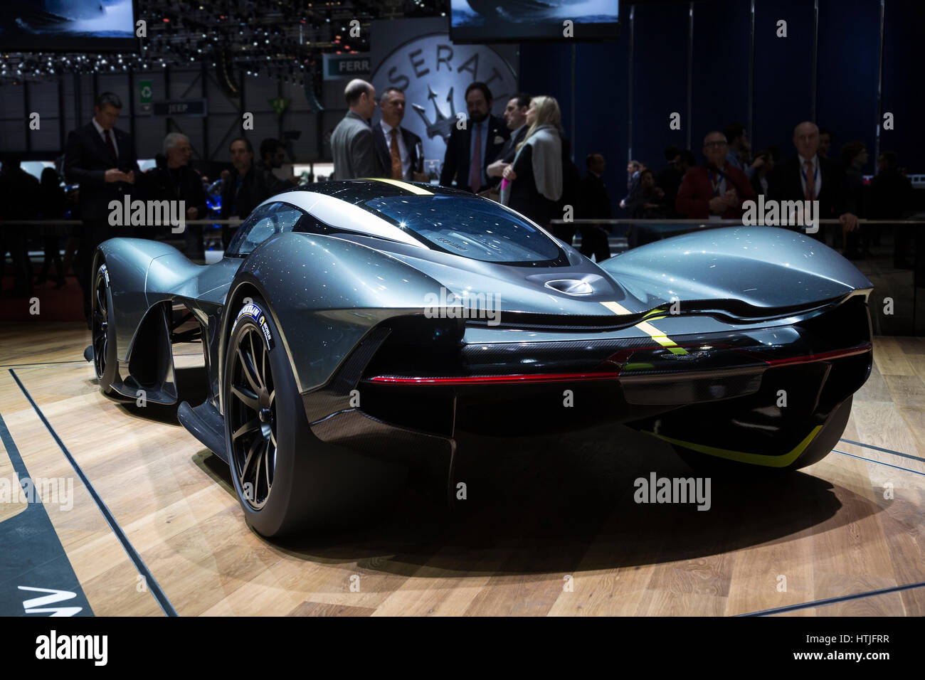 Aston Martin Am Rb Valkyrie At The Th International Geneva Motor Htjfrr