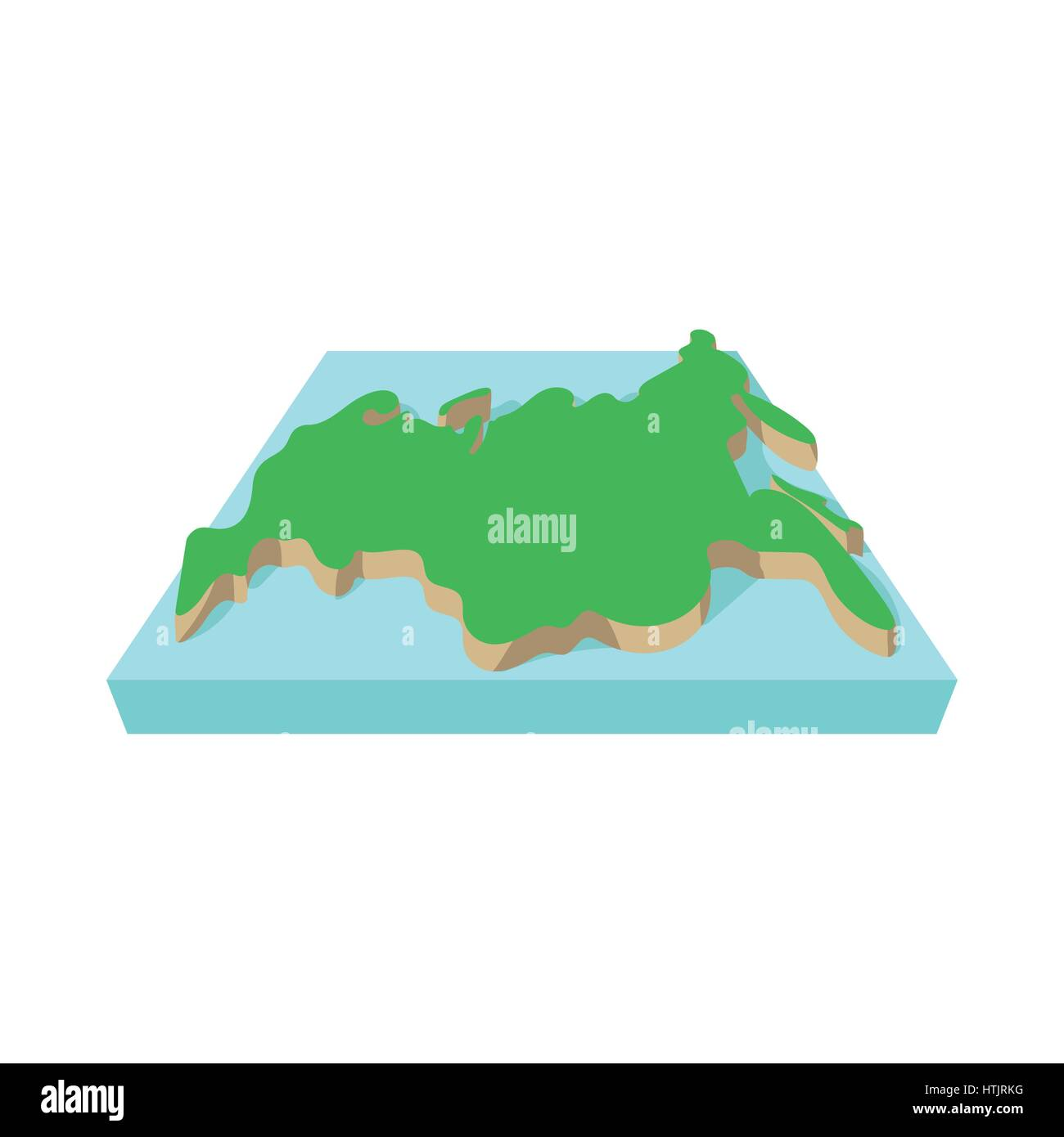 Europe Russia Map Cut Out Stock Images & Pictures - Alamy