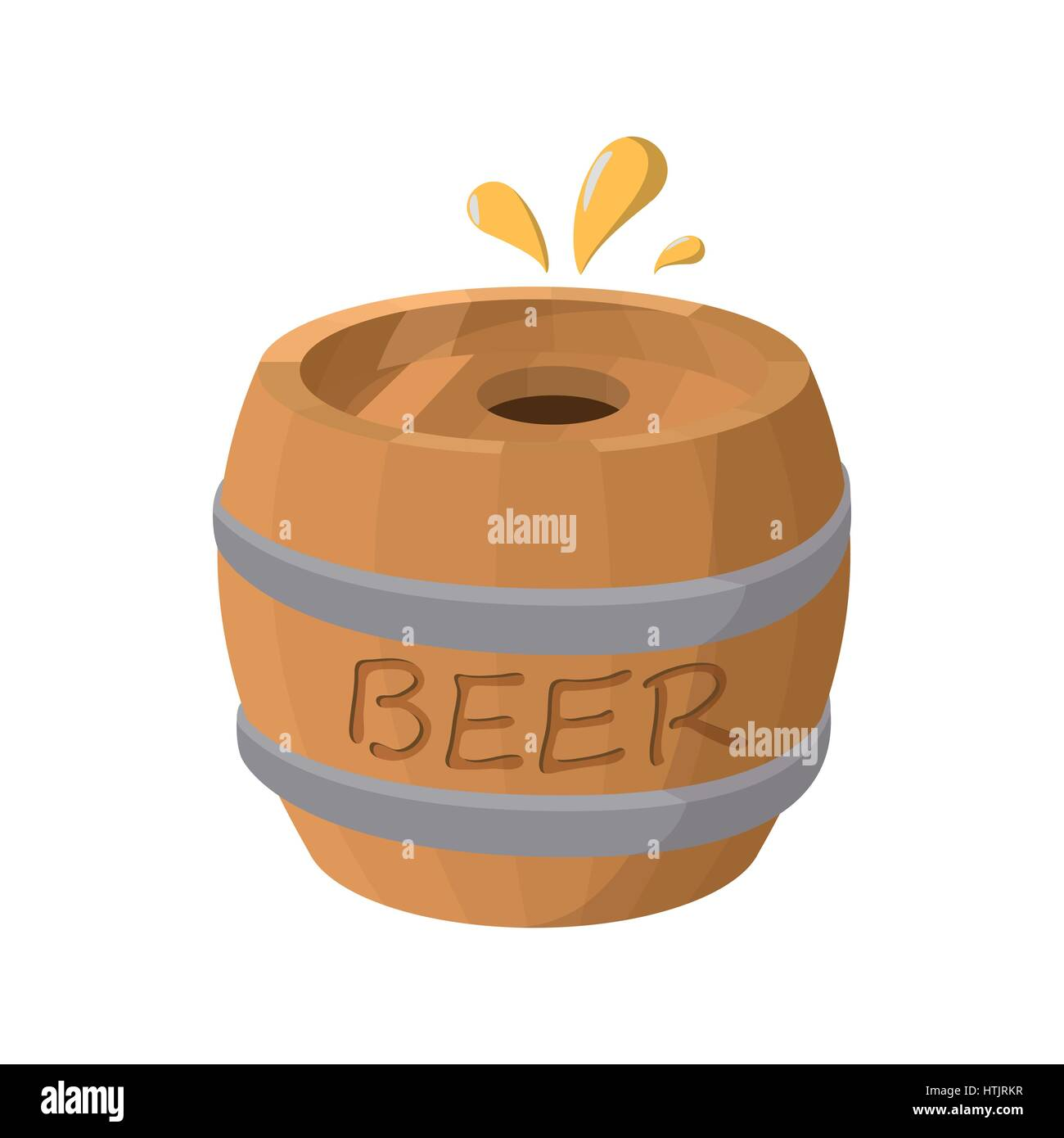 how to open a barrel of beer