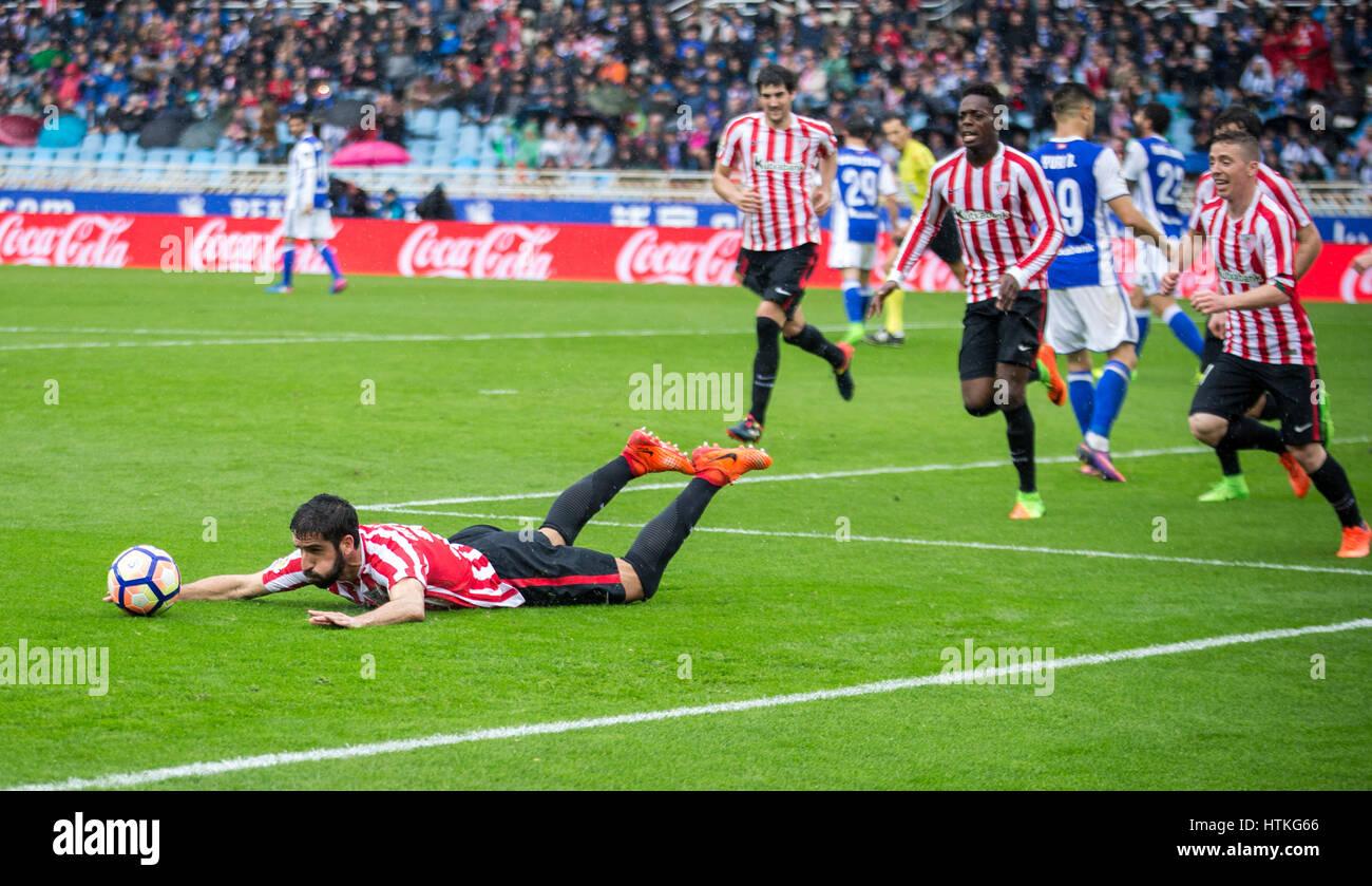 Soccer Match, Madrid, Spain, Europe - Stock Image
