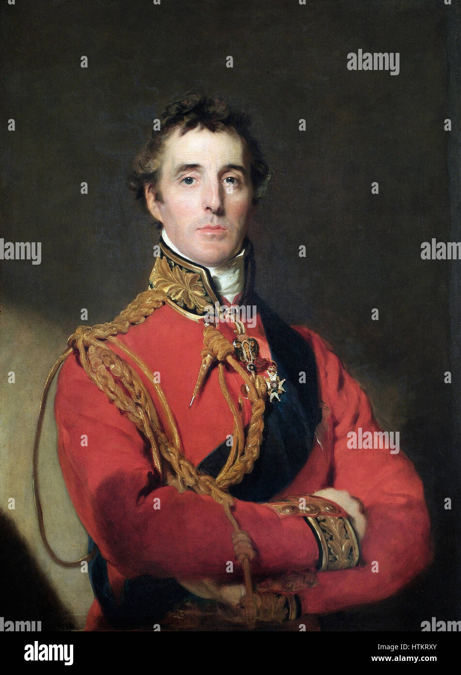 Sir Arthur Wellesley, 1st Duke of Wellington - Stock Image