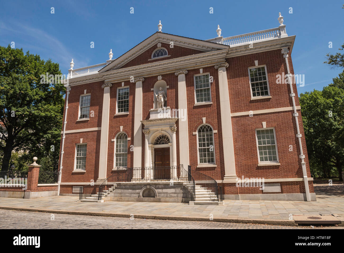 American Philosophical Society, Library Hall, Philadelphia, Pennsylvania, USA - Stock Image