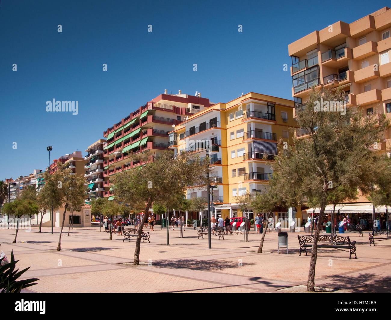 Costa Del Sol, Andalucia, Spain, Europe - Stock Image
