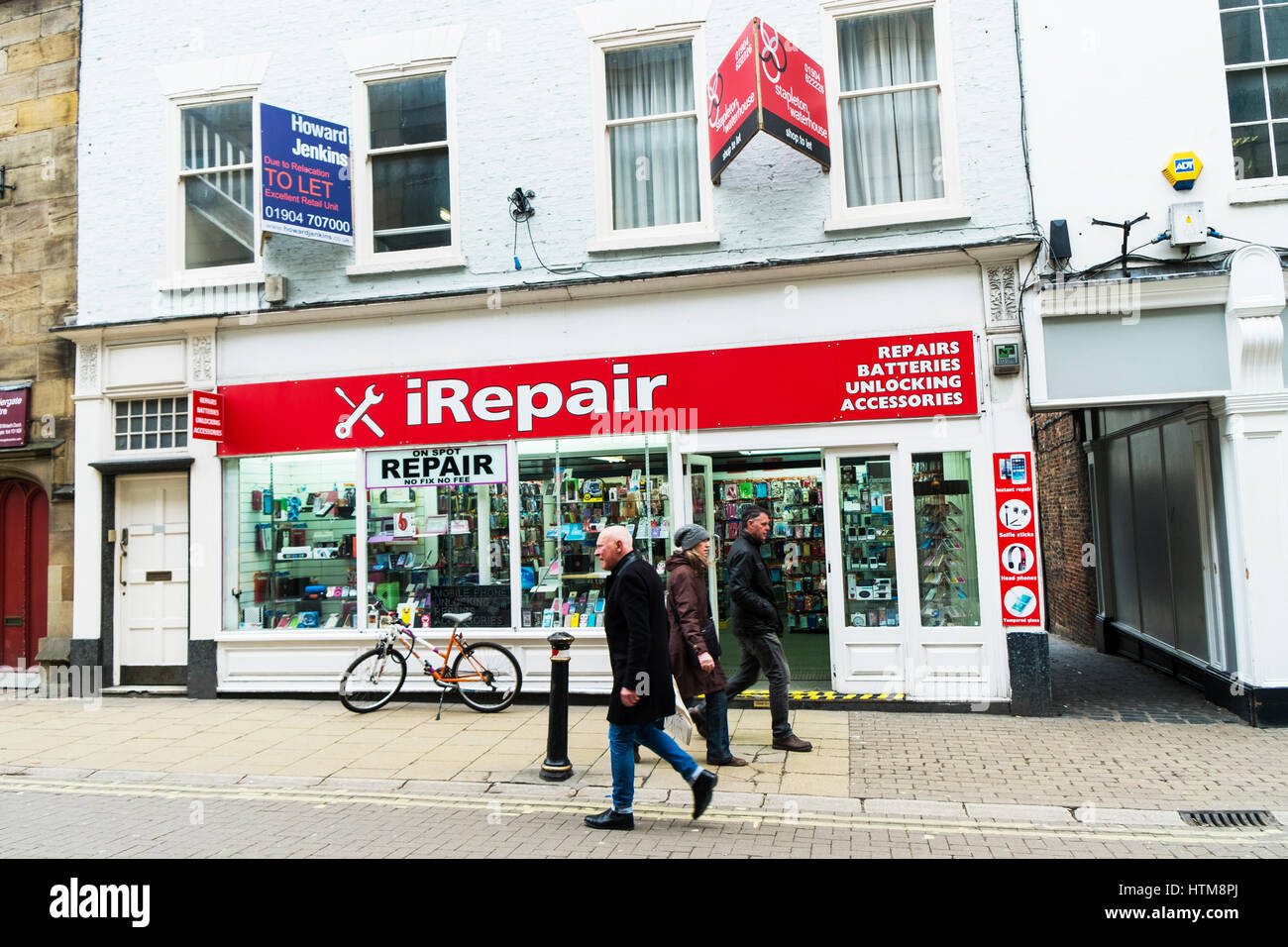 Mobile Phone Repair Shop Store Front Sign Uk England Repairs