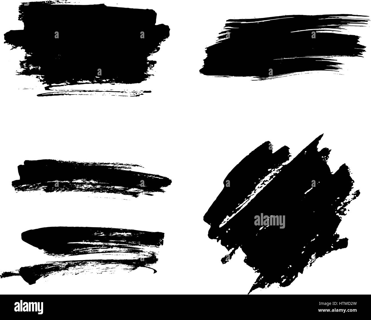 493063a74bba Brush Strokes Stock Vector Images - Alamy