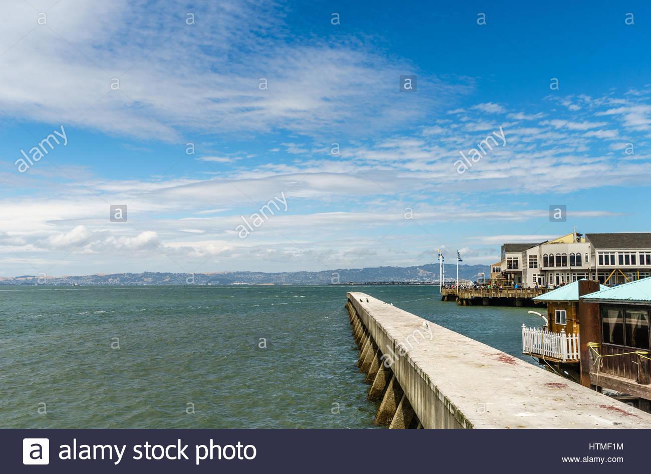 pier 39 san francisco - Stock Image