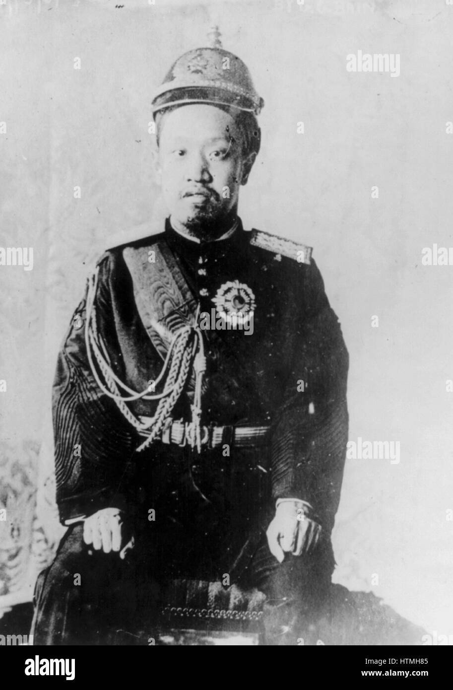 Prince Imperial Ui, the Prince Imperial of Korea, (1877 – 1955) fifth son of Emperor Gwangmu of Korea. He could - Stock Image