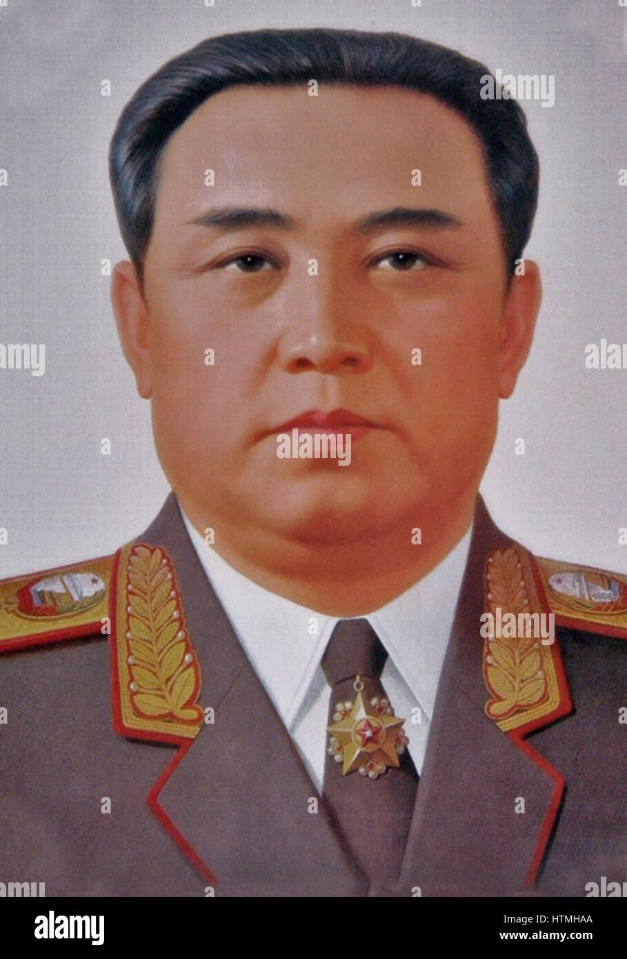 Kim Il-sung 1912 – 1994) Korean communist, and politician who led North Korea from its founding in 1948 until his - Stock Image