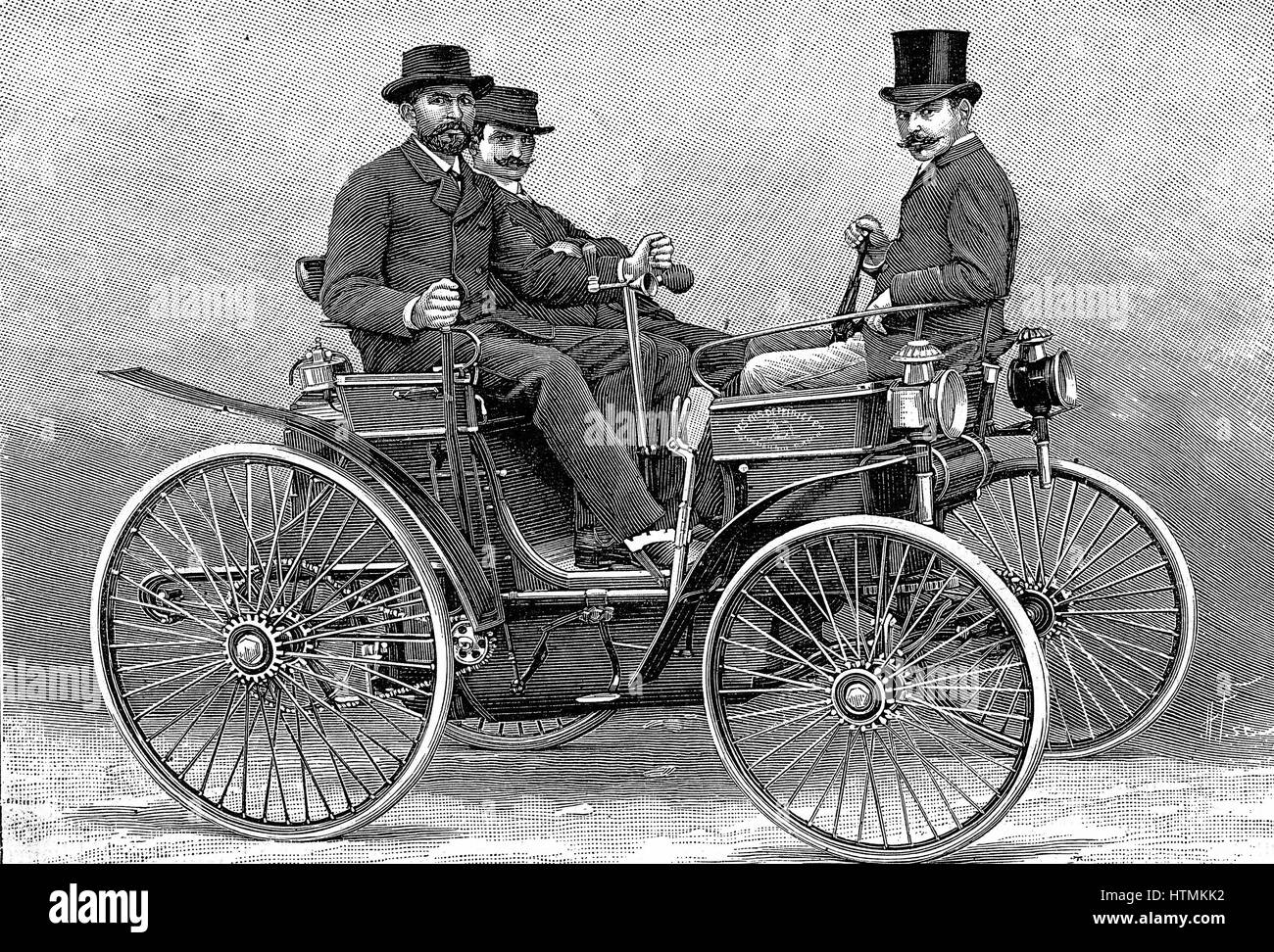 First Automobile With Petrol Engine Stock Photos & First Automobile ...