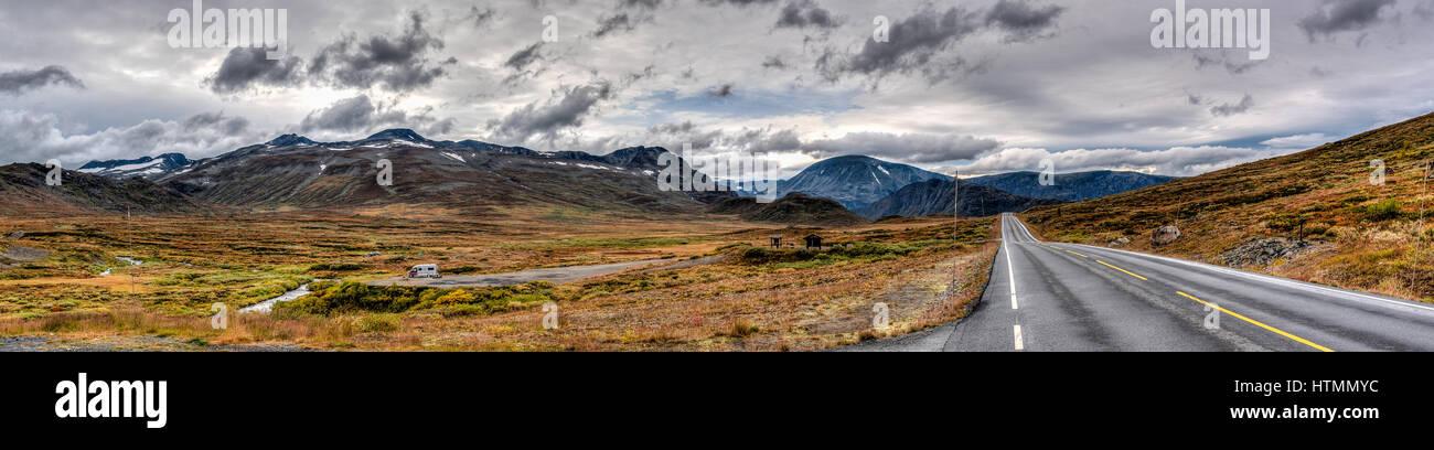 Jotunheimen National Park in Norway. - Stock Image