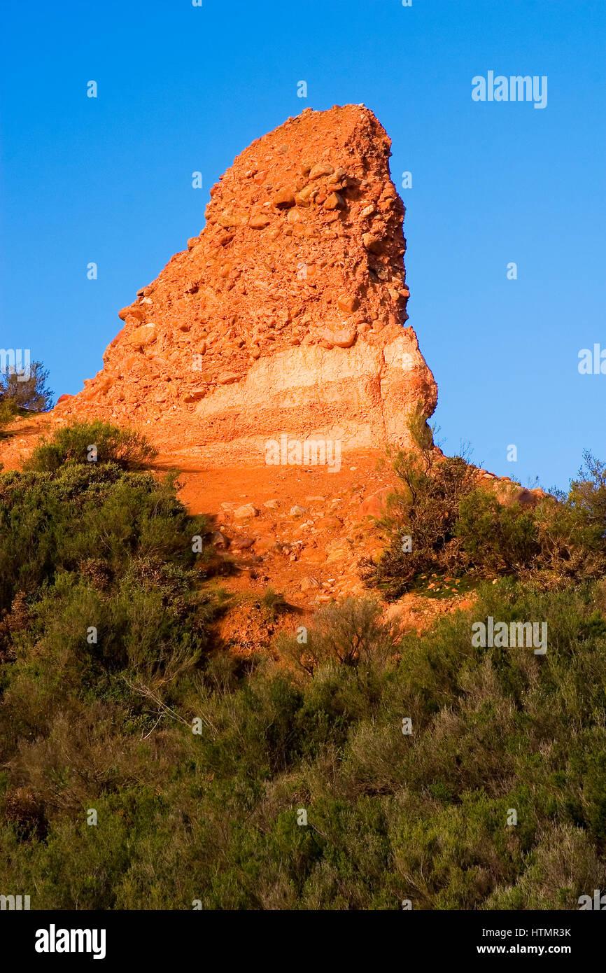 Sandstone landscape - Stock Image