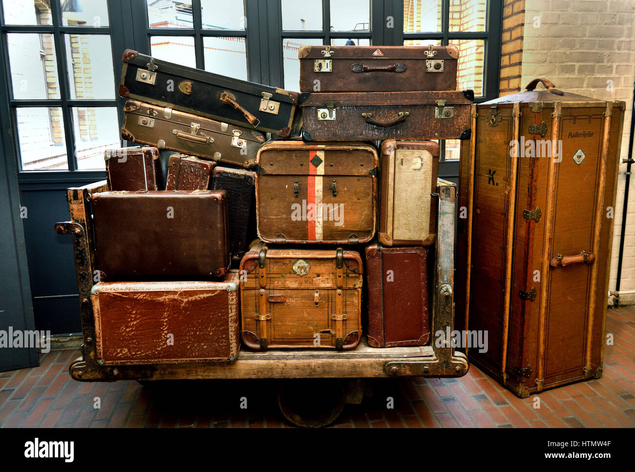 Museum of Technology (The Deutsches Technikmuseum, scientific and technical collection. ) Germany  Berlin Kreuzberg - Stock Image