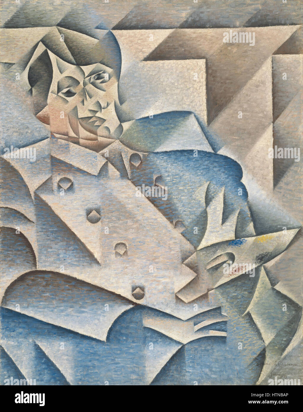 Juan Gris Portrait Of Pablo Picasso Google Art Project