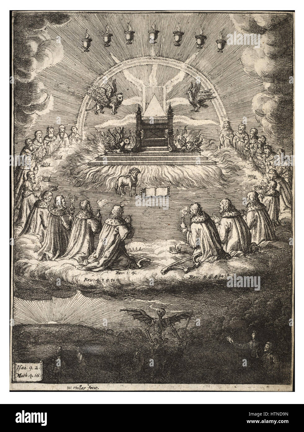 Wenceslas Hollar - Aurora - Stock Image