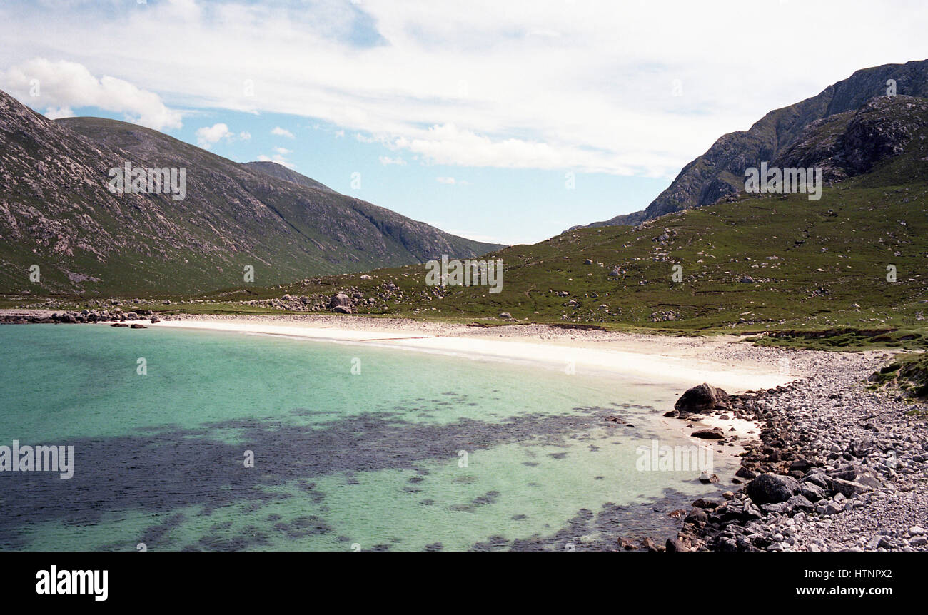Isle of Harris - Outer Hebrides - Stock Image