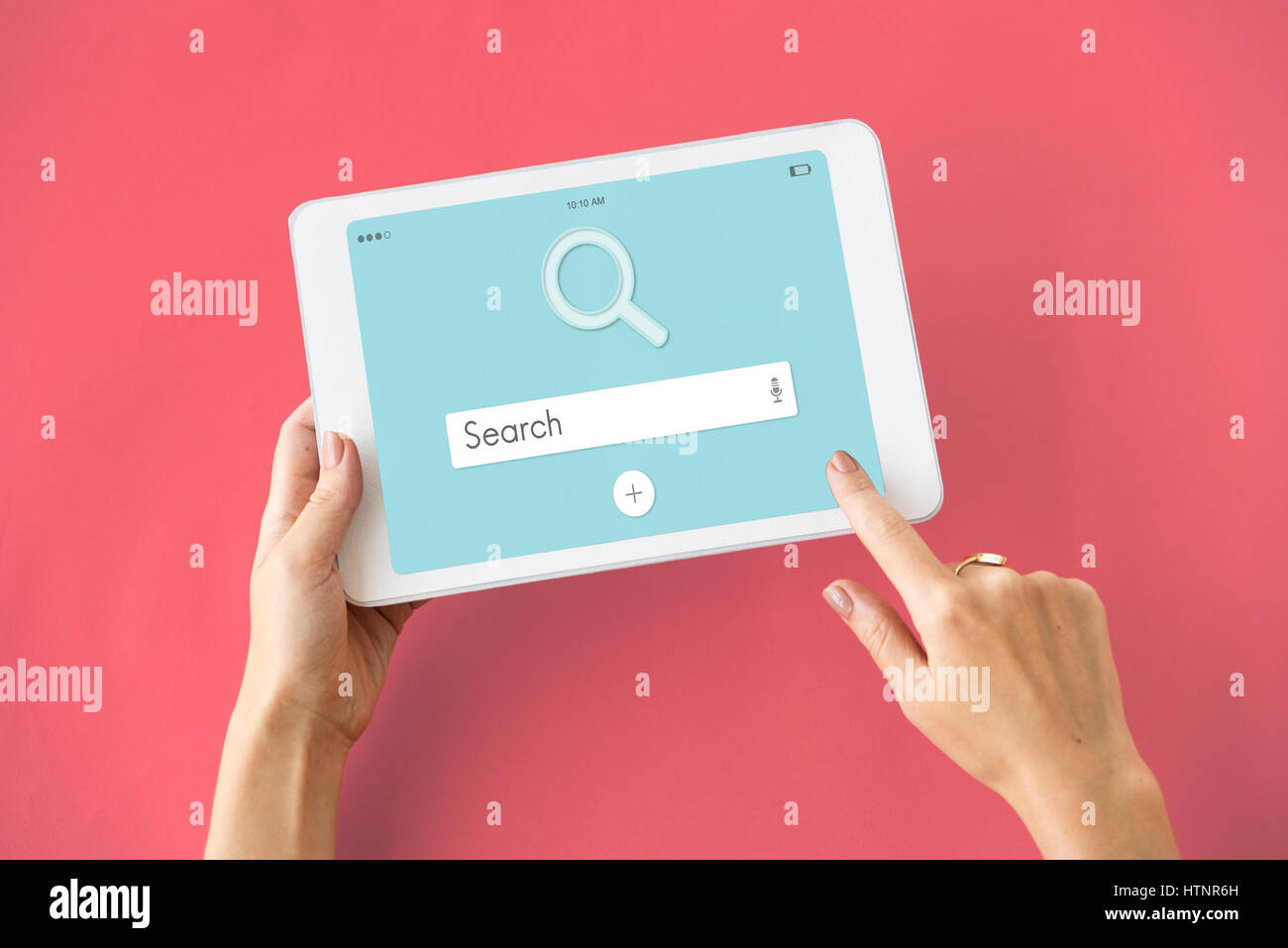 Search Website Online Homepage Word - Stock Image