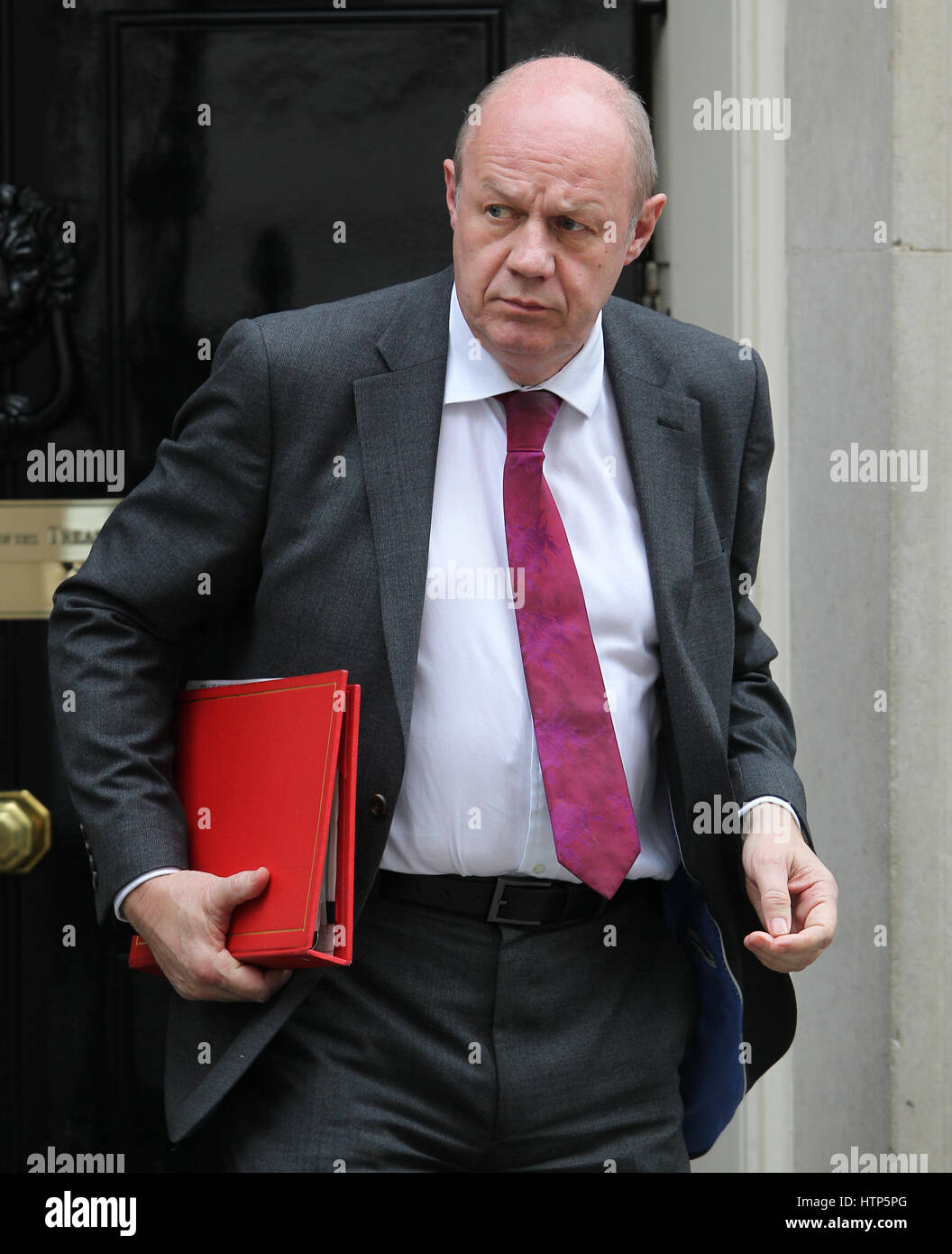 London, UK. 14th Mar, 2017. London, Mar 14, 2017. Damian Green MP Secretary of State for Work and Pensions seen - Stock Image