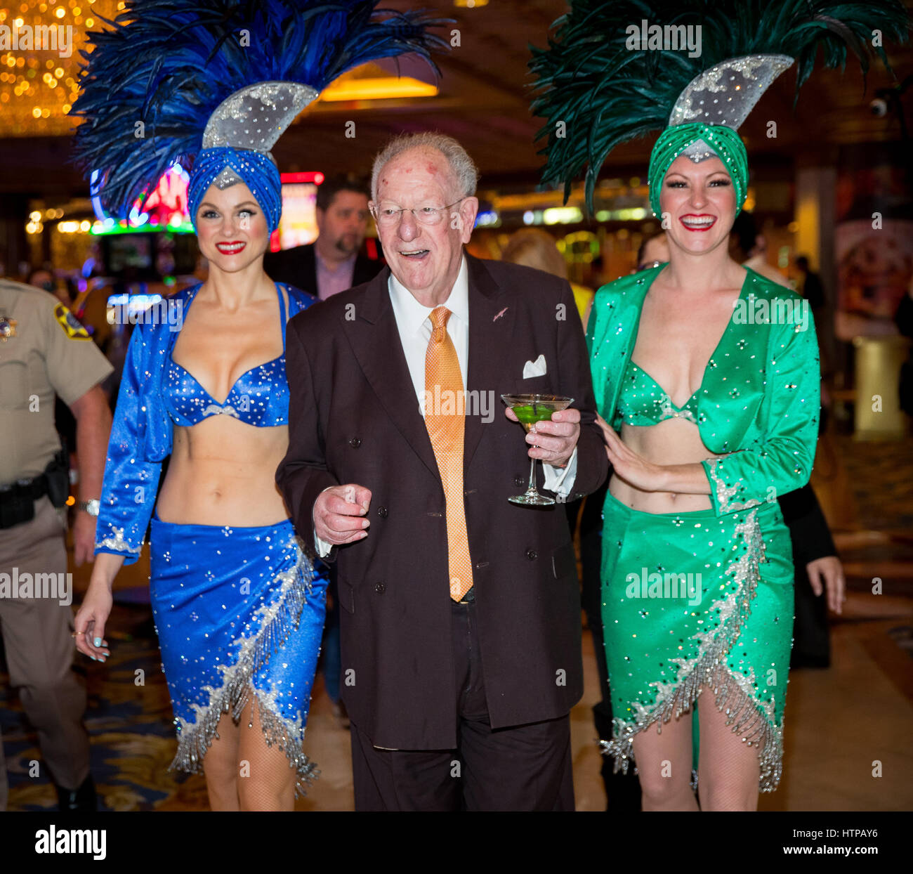 Las Vegas, NV, USA. 16th Mar, 2017. ***HOUSE COVERAGE*** Former Las Vegas Mayor and Host Committee Chairman Oscar - Stock Image