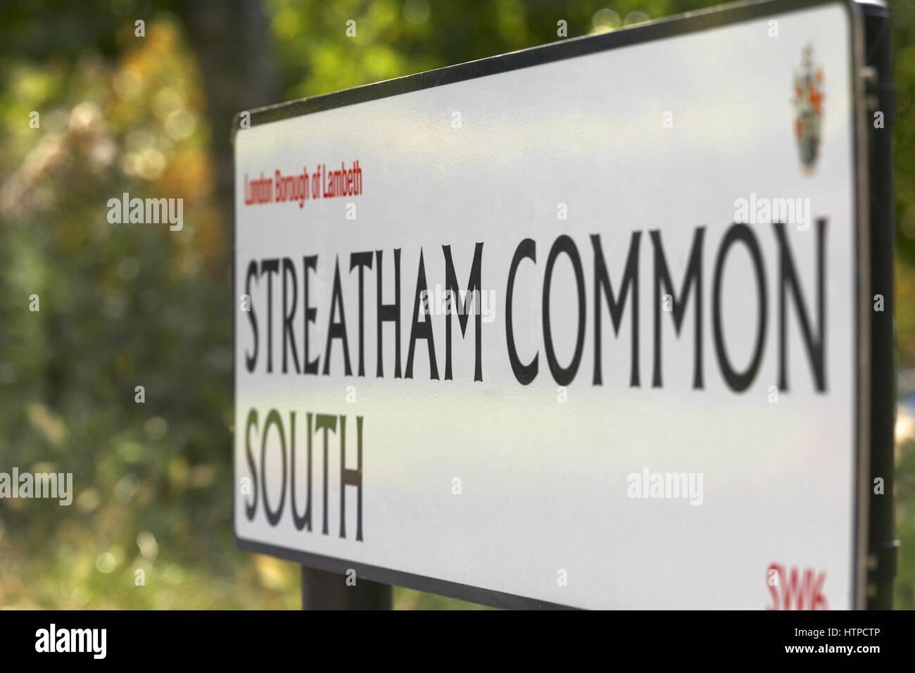 Streatham Common - Stock Image
