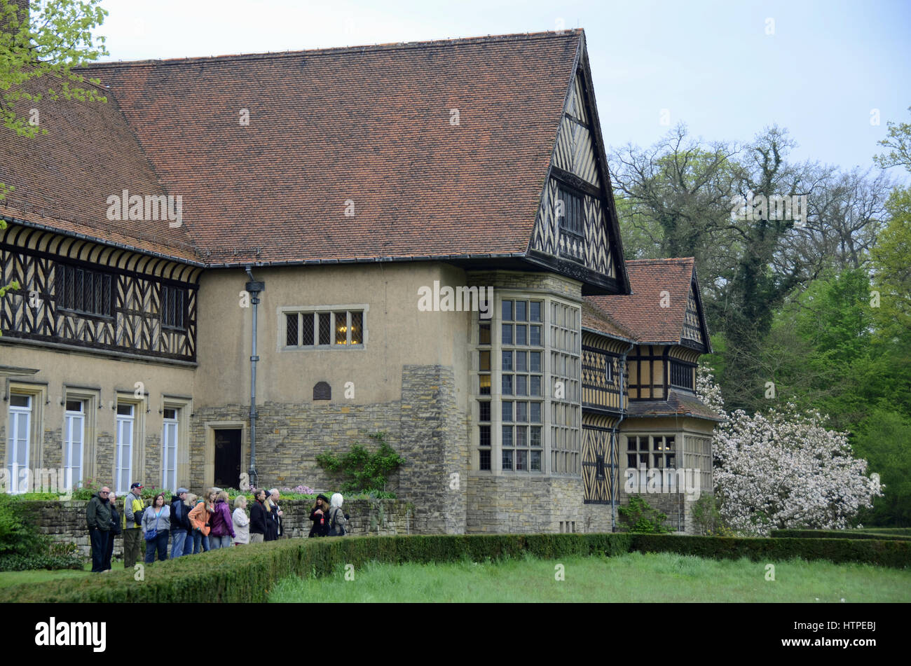 Cecilienhof Palace - place of Potsdam conference , Potsdam, Europe, Germany, Brandenburg - Stock Image