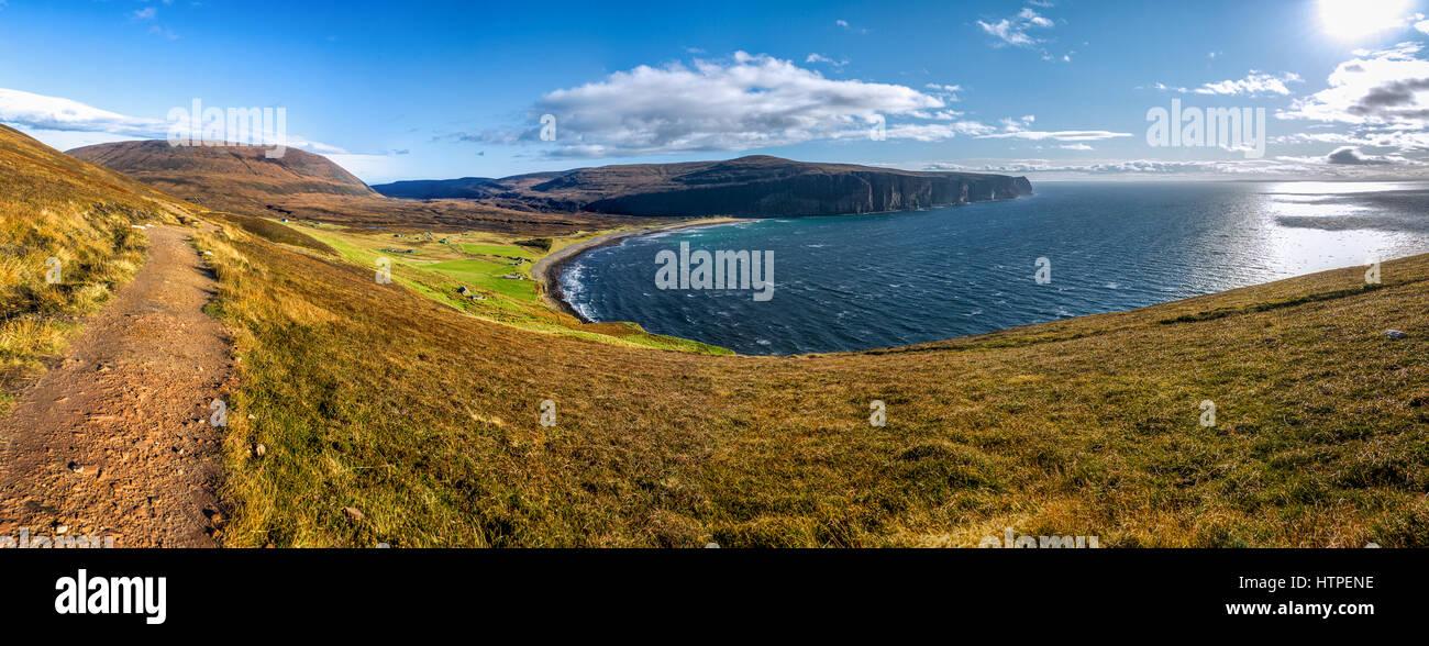 Rackwick bay, Isle of Hoy, Orkney islands, Scotland - Stock Image