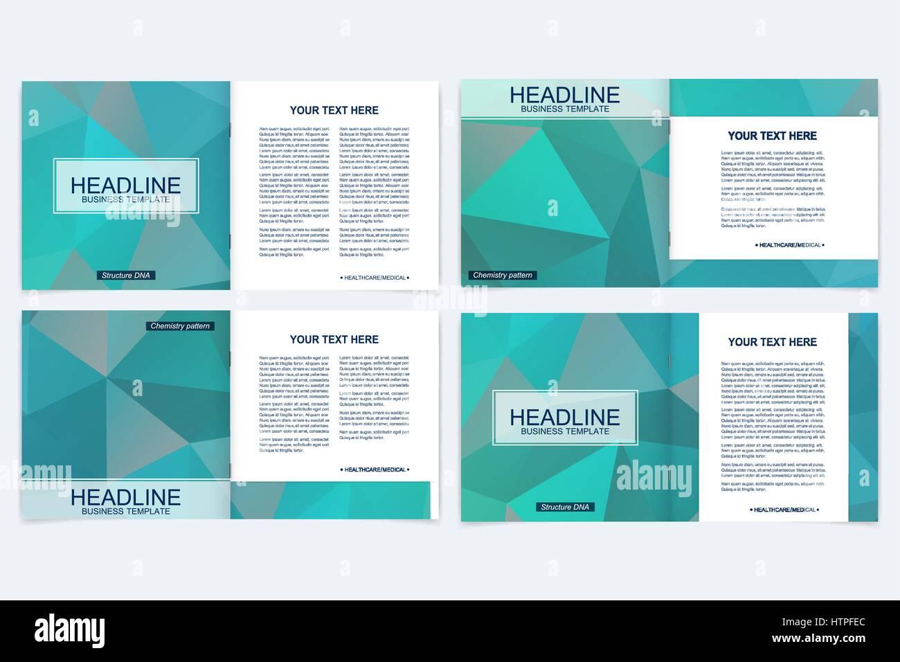 Elegant Brochure Template Design Triangle Stock Photos Elegant