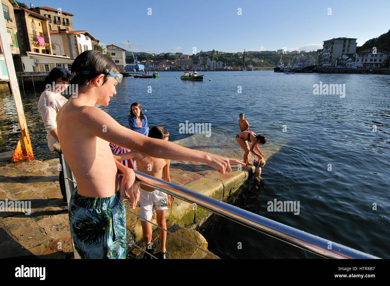 Pasaia, Gipuzkoa, Basque community, Spain - Stock Image