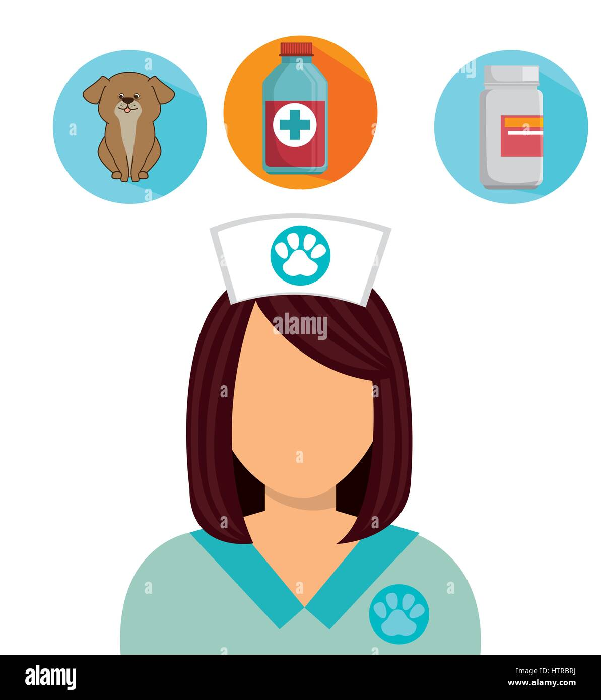 Pet and animal shop - Stock Vector