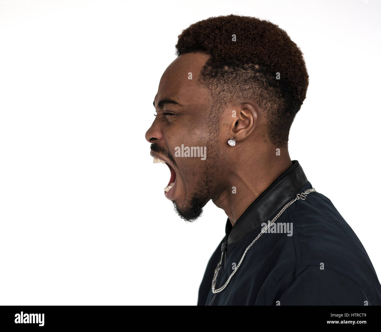 young black guy screaming out stock photos young black guy